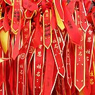 Lots of little... prayer ribbons? by Marjolein Katsma