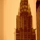 Chrysler Building - Pixels by Amanda Vontobel Photography