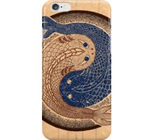 yin yang fish, shuiwudao mandala iPhone Case/Skin