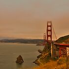 Golden Gate of San Francisco by Barrett Mand
