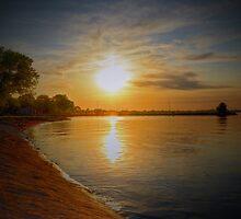 Lake Sky by Barrett Mand