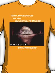 Fireworks - 75th Anniversary of the Golden Gate Bridge T-Shirt