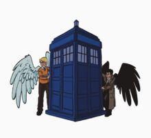 The Angels have the phonebox by Steve Stivaktis