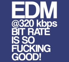EDM at 320 kbps (white) by DropBass
