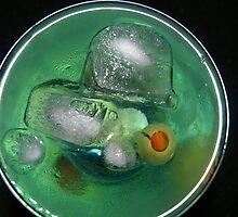 Blue martini by Alena  Samsonov