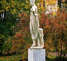 Statue in the park by torishaa