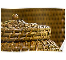 Woven Basket Poster