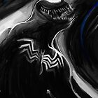 The Black Spider Bad Guy by stevontoast
