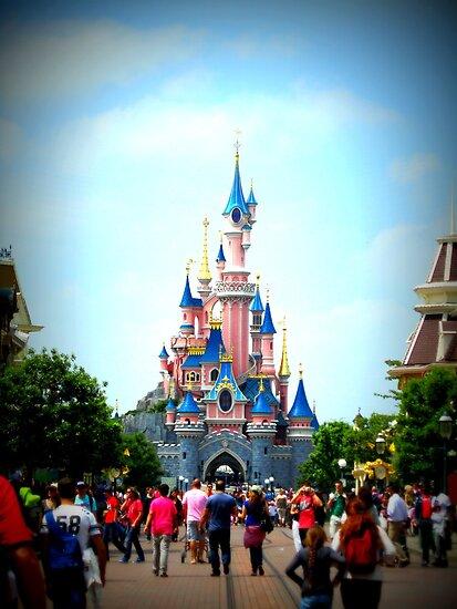 Disneyland Castle by Erin Mason