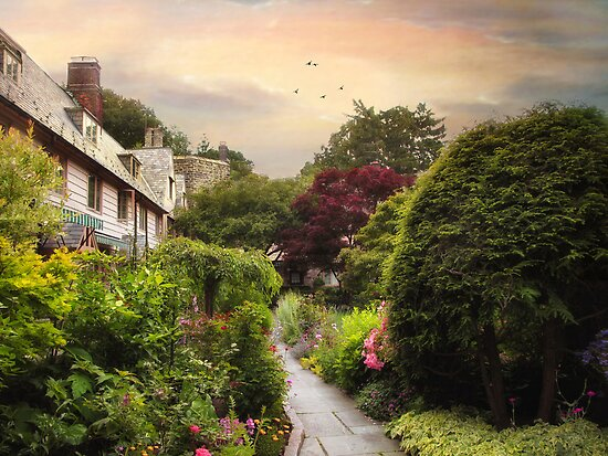 English Garden by Jessica Jenney