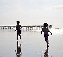 Boys on the Beach II by Ginadg73