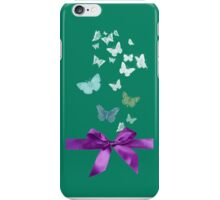 Butterflies & Ribbons iPhone Case/Skin
