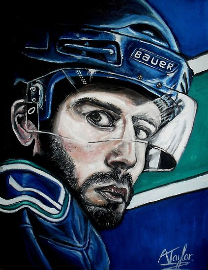 Ryan Kesler by Andrew Taylor