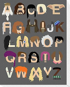 Harry Potter Alphabet by Mike Boon