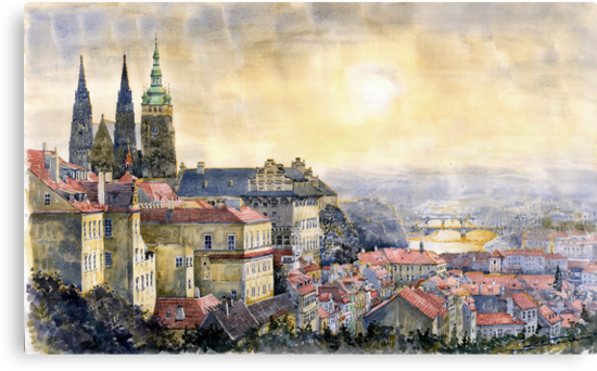 Dawn of Prague  by Yuriy Shevchuk