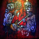 -Haloween Band- acryl auf Tuch ,160 x 160 cm by Despinaart