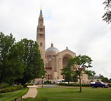 Basilica of the National Shrine of the Immaculate Conception by WalnutHill