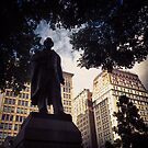 Statue of Lincoln in Union Square Park - New York City by SylviaS