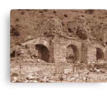 Bath of Varius - Ephesus Canvas Print