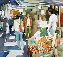 Shopping Shapes - Hong Kong by Annette Raff