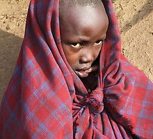 Young Maasai Girl by Carole-Anne