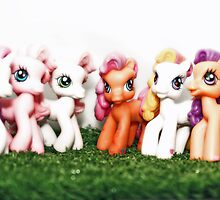 My Little Pony, Ponyville Ponies by Furtographic