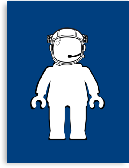 Banksy Style Astronaut Minifig by Customize My Minifig by ChilleeW