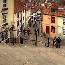 View from the Whitby Steps by Tom Gomez
