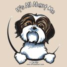 Brown/White Shih Tzu :: It's All About Me by offleashart