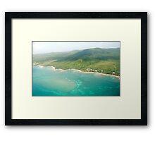 Island Flight Framed Print