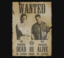 Supernatural - Wanted Dead or Alive by Shaun Beresford