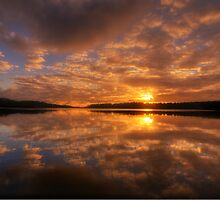 Fever In The Morning - Narrabeen Lakes, Sydney Australia - The HDR Experience by Philip Johnson