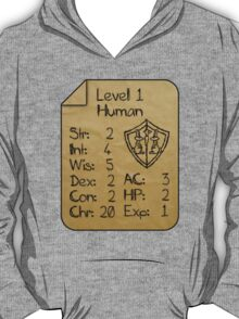 Level 1 - Human [only for Nerd Babies] T-Shirt