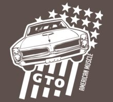 Pontiac GTO Stars & Stripes by Robin Lund