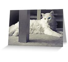 Delain Portrait Greeting Card