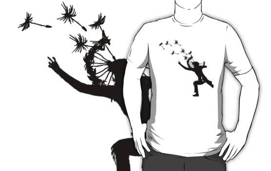 Dandelions Are Fun! T-Shirt by Denis Marsili
