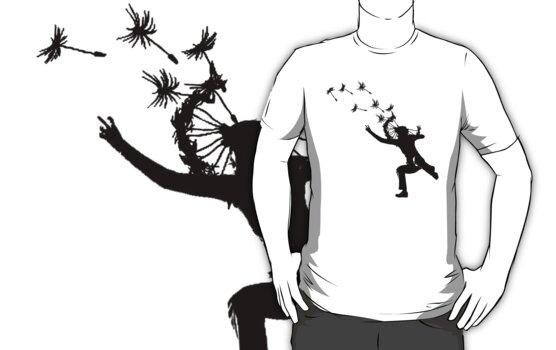 Dandelions Are Fun! T-Shirt by Denis Marsili