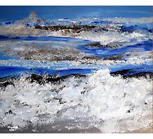 To paint the sea... Photographic Print