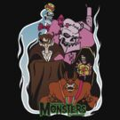 Famous Monsters of Breakfast by monsterfink