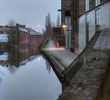Canalside by Weavers Wharf by Alex Drozd