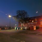 Car park and building, Bromsgrove Street, Kidderminster by Alex Drozd
