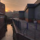 New Road, Kidderminster, sunrise by Alex Drozd