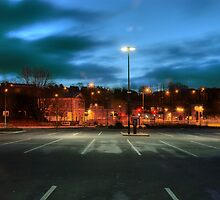 Aldi car park, Kidderminster by Alex Drozd