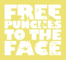 Free punches to the face Kids Clothes