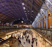 St Pancras International by Themis