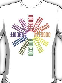 Hex color wheel T-Shirt