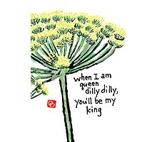 Dill (the Herb Series) Photographic Print