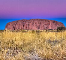 Uluru Sunset by Dean Cunningham