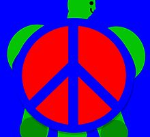 Turtle Peace by PharrisArt