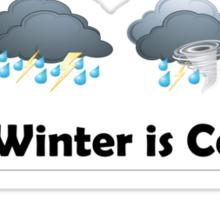 Winter is Coming - Stark TV Sticker
